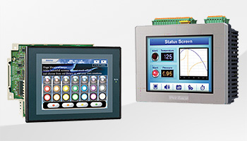 HMI-Panel Terminals und Steuerung