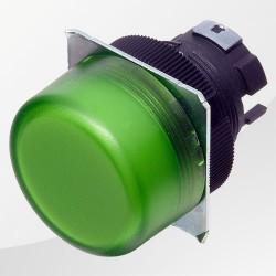 M22 / M22N LED Meldeleuchte rund grün