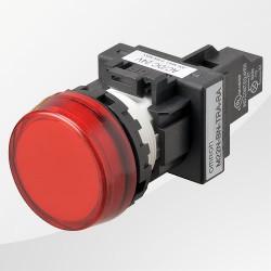 M22 LED Meldeleuchte rund rot