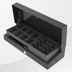 Kassenlade Flip Lid 460 Modular New schwarz