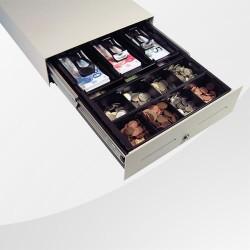Kassenschublade Slimline SL4 weiss