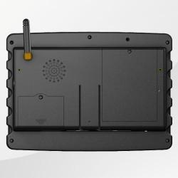 BETA903A mobiler Fahrzeugcomputer Rückseite
