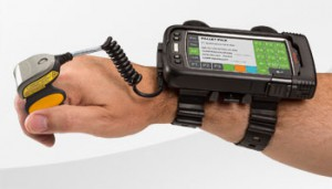 Freihandcomputer/Barcode Scanner als Wearable
