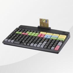 programmierbare Kassentastatur MCI-128 PrehKeyTec schwarz