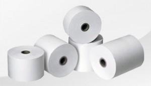 Rollenpapier für Kassendrucker