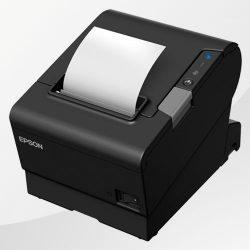 TM-T88VI Epson Kassendrucker schwarz mit Bon