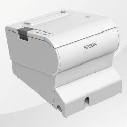 TM-T88VI Epson Kassendrucker weiss Rückseite