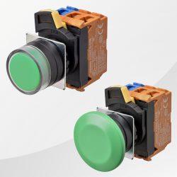 A22N Drucktaster / Schalter grün